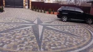 плитка для тротуарів, сучасна бруківка, технологія укладання тротуарної плитки